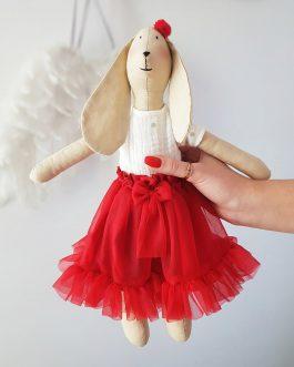 Spódniczka tiulowa z falbaną dla lalki